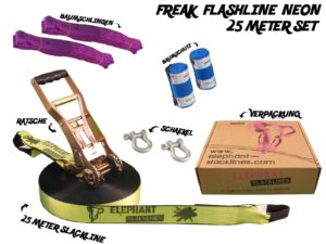 Freak Flashline Set - 25 Meter neon Image