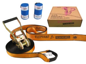 orange Wing 15 Meter - Slackline Set - Elephant Image