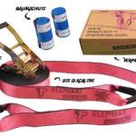 Slackline Testbericht: Rookie Flashline Set 15 Meter pink - Anfänger Set