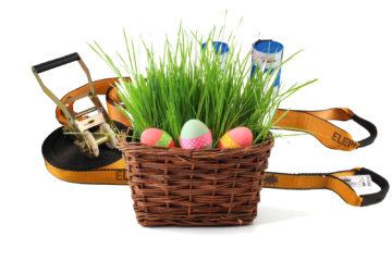Eine Slackline zu Ostern - sinnvolles Ostergeschenk für Kinder und Erwachsene