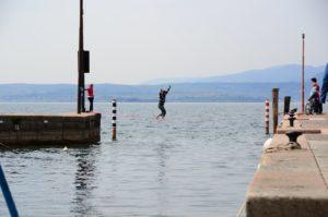 Waterline in Italien am Gardasee